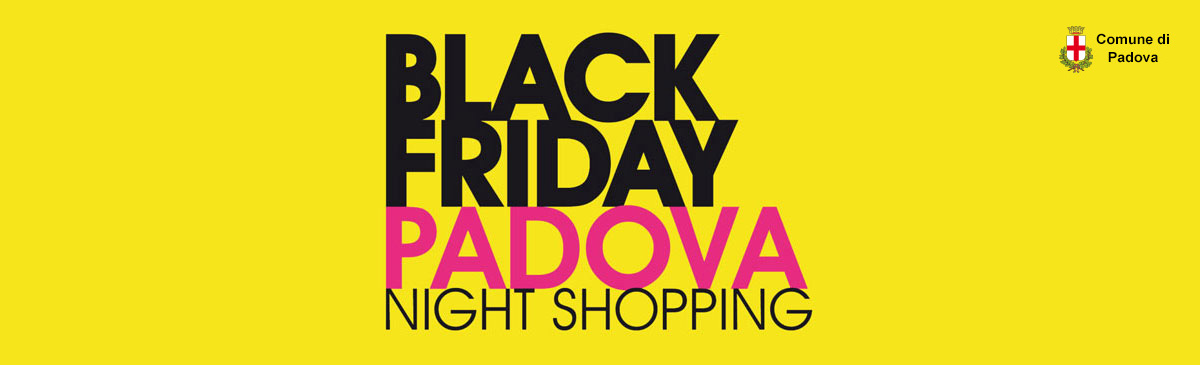 Black Friday Padova Logo